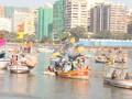 Patung Tertinggi Dunia di Mumbai Ancam Kehidupan Nelayan