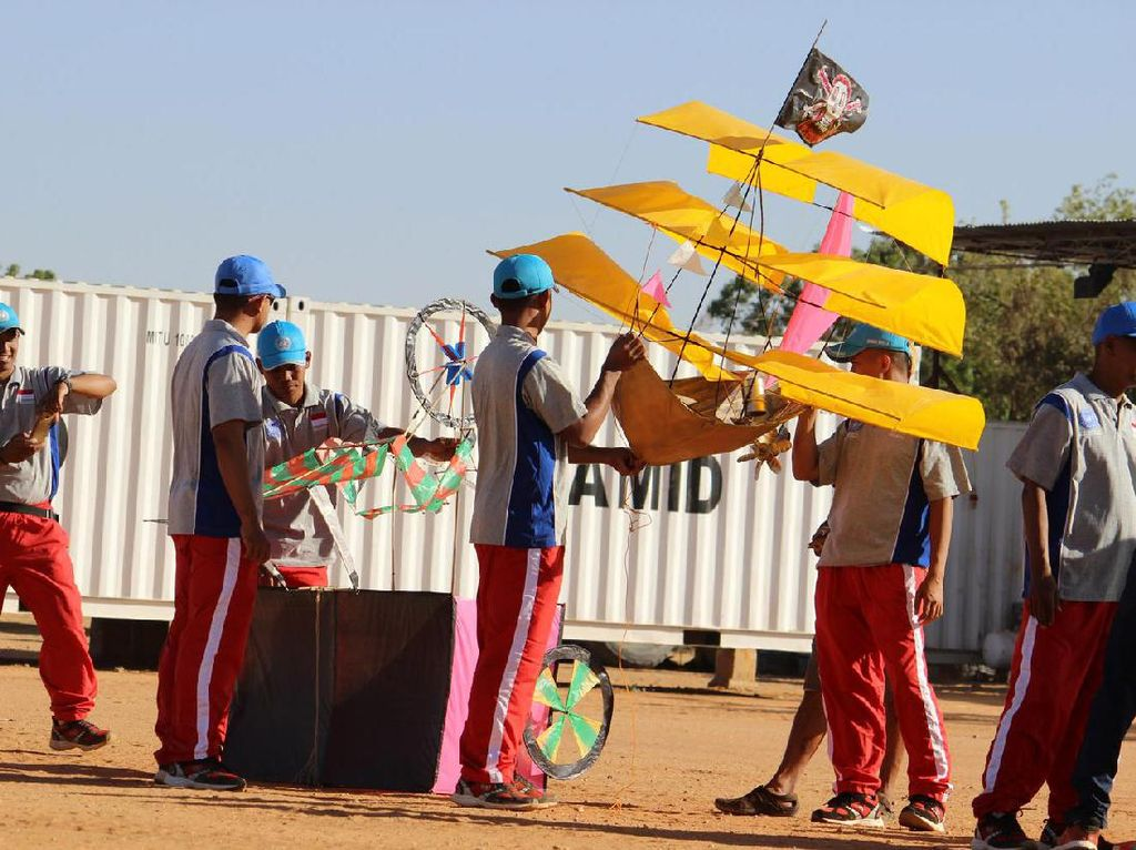 Festival ini diikuti sebanyak 60 peserta yang berasal dari berbagai negara seperti Bangladesh, Burkina Faso, Senegal, Pakistan, dan Nigeria. Pool/Pupen TNI.