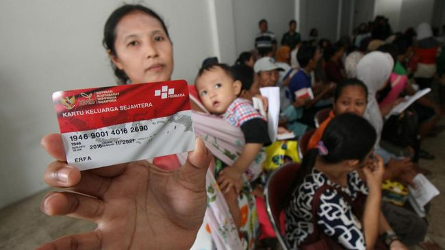Survei Klaim 96 Persen Keluarga Puas Bantuan Pangan Nontunai