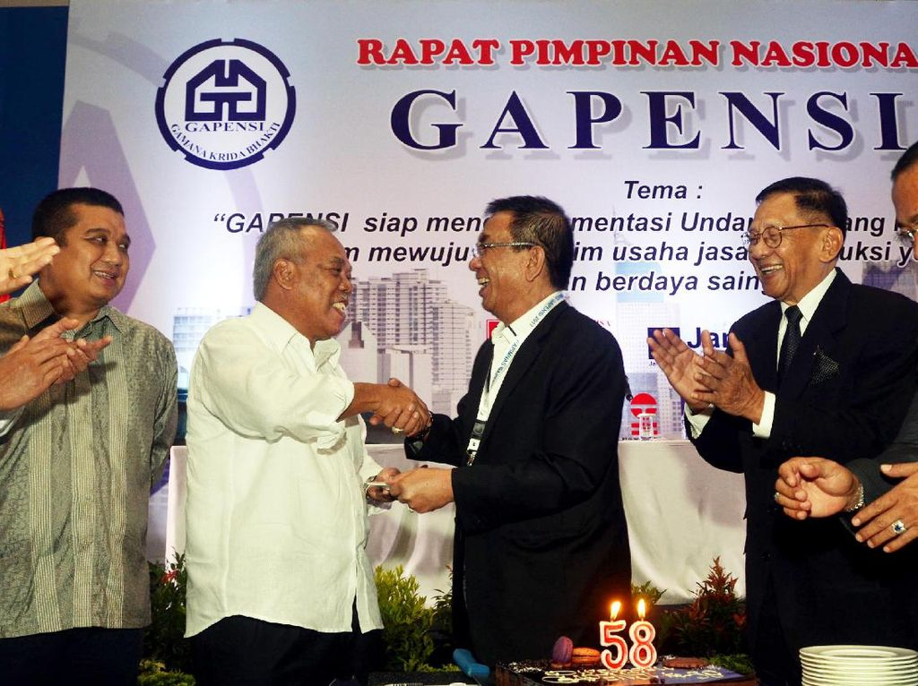 Dalam Rapimnas BPP Gapensi siap mengimplementasi Undang-Undang No. 2 Tahun 2017 dalam mewujudkan iklim usaha jasa konstruksi yang sehat dan berdaya saing. Dok, GAPENSI.