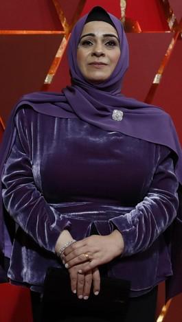 Datang ke Oscar, Pengungsi Suriah Pakai Gaun Karya Desainer Lady Gaga