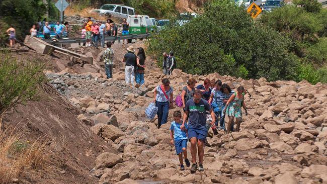 Banjir dan Longsor di Chile, Tiga Orang Tewas