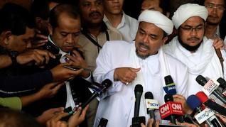 Rizieq Shihab Klaim Ditawari Uang Rp1 Triliun Usai Aksi 212