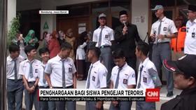 Ridwan Kamil Apresiasi Keberanian Siswa Kejar Teroris