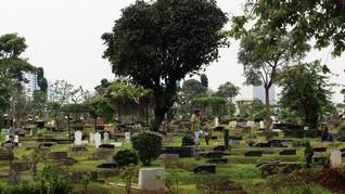Bantah Krisis Lahan, DKI Sebut Makam Tumpang Kemauan Keluarga