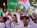 Ribuan Pelajar Bogor Dikerahkan untuk Sambut Raja Salman