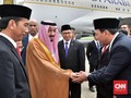 Ahok Unggah Foto Bersalaman dengan Raja Salman di Twitter