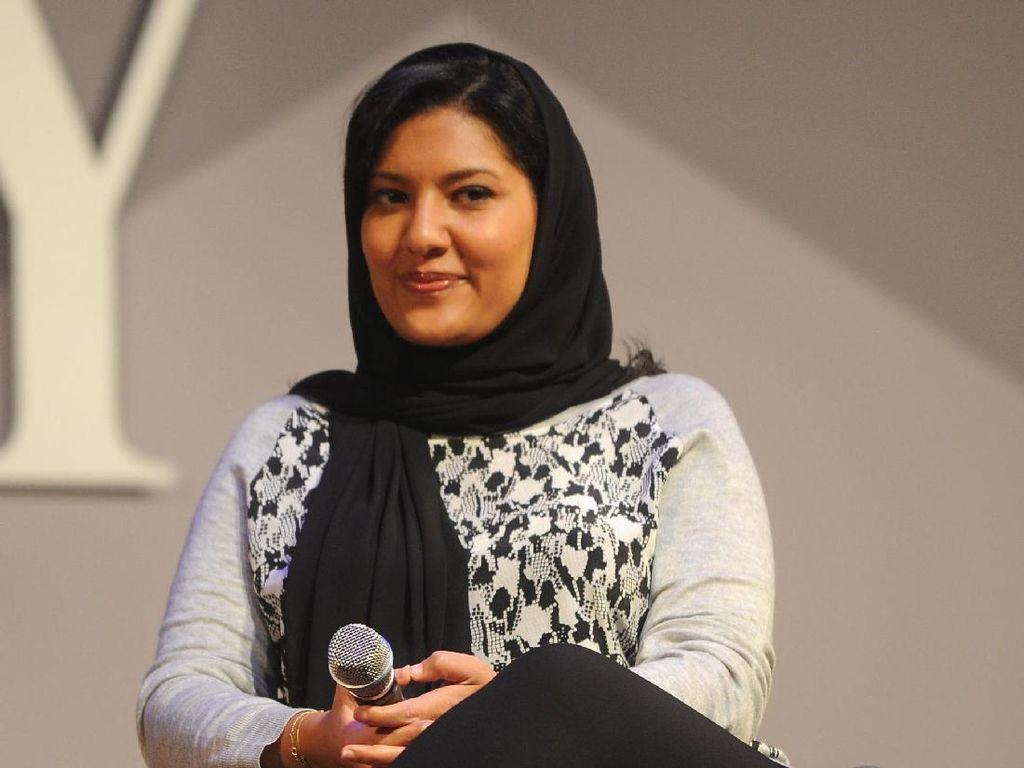 Putri Arab Saudi Ini Raih Penghargaan sebagai Wanita Paling Sporty di 2017