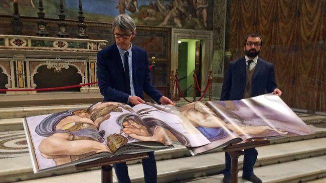 Ratusan Ribu Mahakarya Seni Vatikan Dibuat Versi Digital