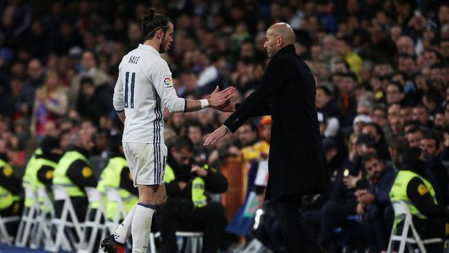 Zidane Diklaim Pergi dari Real Madrid Karena Bale Tak Dijual