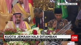 Kerajaan Arab Saudi Menambah Kuota Haji Indonesia