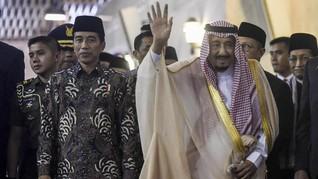 Jokowi Akan Bertemu Raja Salman di Arab Saudi