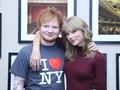 Ed Sheeran Bocorkan Rencana Album Taylor Swift