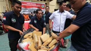 Polisi Bongkar Rumah Produksi Ganja Sintetis di Bali