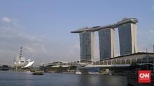 Hari Pertama Warga Singapura Kerja di Rumah, Jalanan Sepi