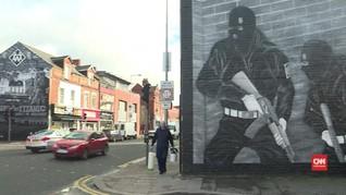 Seni Jalanan di Belfast Lawan Perpecahan Masyarakat