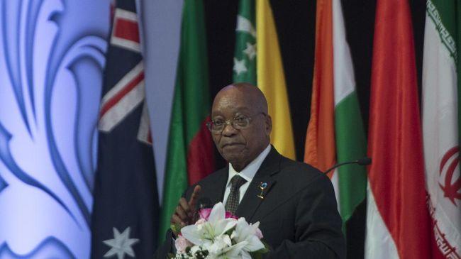 Zuma Tak Juga Mundur, Partai ANC Ajukan Mosi Tak Percaya