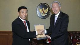 Wiranto Minta Saran Singapura soal Badan Siber Nasional