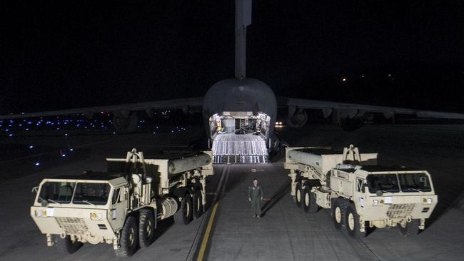 Kim Jong-un Pamer Senjata, AS Kebut Anti-rudal di Korsel