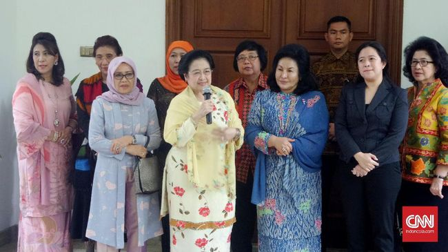 Megawati Bertemu Istri PM Malaysia, Bahas Isu Perempuan