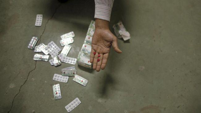 Polisi Tangkap Tiga Pengedar Obat Aneh di Kendari