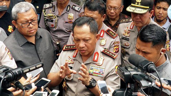 Kapolri Perintahkan Kapolda 'Amankan' Massa Tamasya Al Maidah