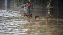 Kawasan Dayeuhkolot Banjir, Ketinggian Air Hingga 2,3 Meter