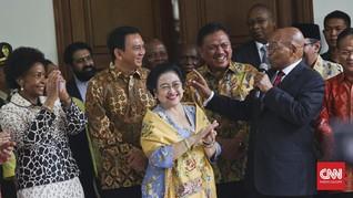 Megawati Bicarakan Soekarno dengan Presiden Afrika Selatan