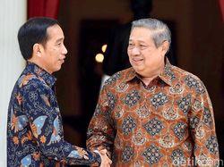 AHY: SBY Telepon Jokowi Beri Ucapan Selamat