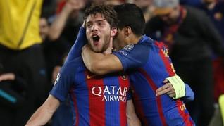Trio Barcelona Absen di Laga Tandang Kontra Juventus