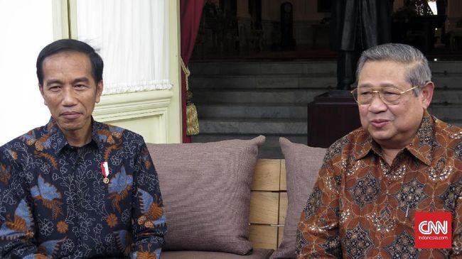 SBY Datang di Pelantikan Jokowi-Ma'ruf Amin