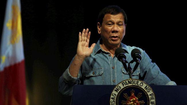 Duterte Mundur Jika Anaknya Maju Jadi Ketua Dewan Perwakilan
