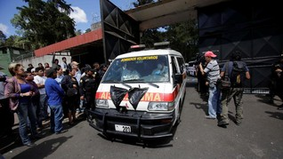 Diduga Disengaja, 20 Gadis Tewas dalam Kebakaran di Guatemala