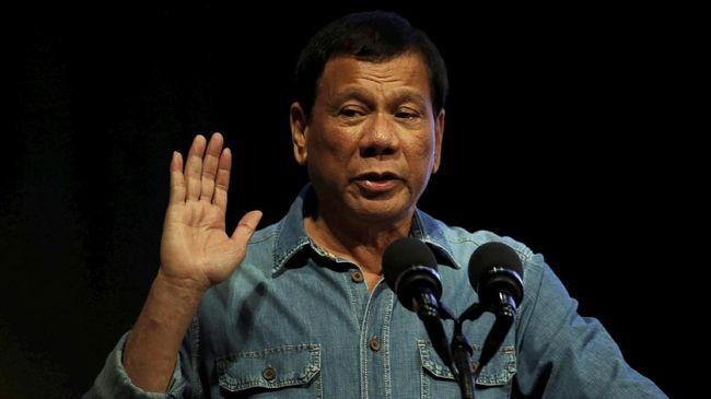 Keras Melawan Narkoba, Duterte Malah Bergurau Soal Ganja