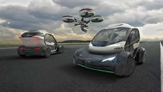 Airbus Perkenalkan Konsep Mobil Terbang Modular
