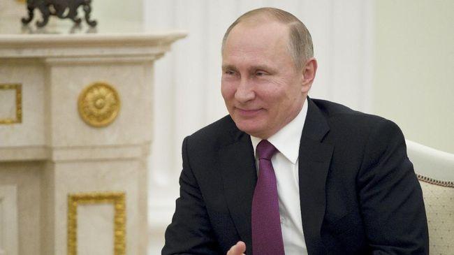 Jadi Presiden Rusia Empat Kali, Putin Janji Layani Rakyat