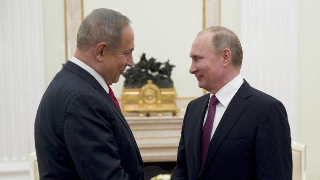 Putin Berencana Bertemu Netanyahu di Sela Piala Dunia
