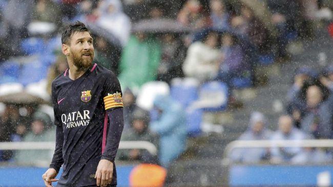 Enrique: Messi Selalu Hormati Wasit