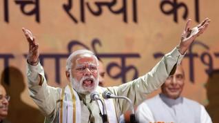 Hari Yoga Sedunia, PM India Senam Bersama Ribuan Warga