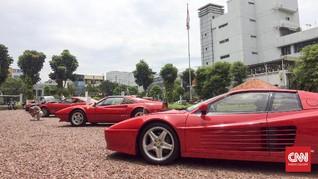 Ferrari Langka Seharga Rp31 miliar Dicuri Saat 'Test Drive'