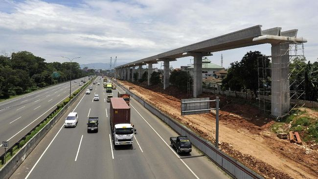 Negara 'Pikul' Proyek LRT Jabodebek Hingga 2031 Mendatang