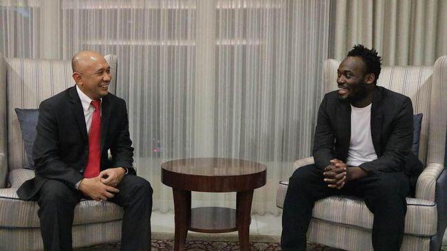 Essien Latihan Perdana Bersama Persib Mulai 27 Maret