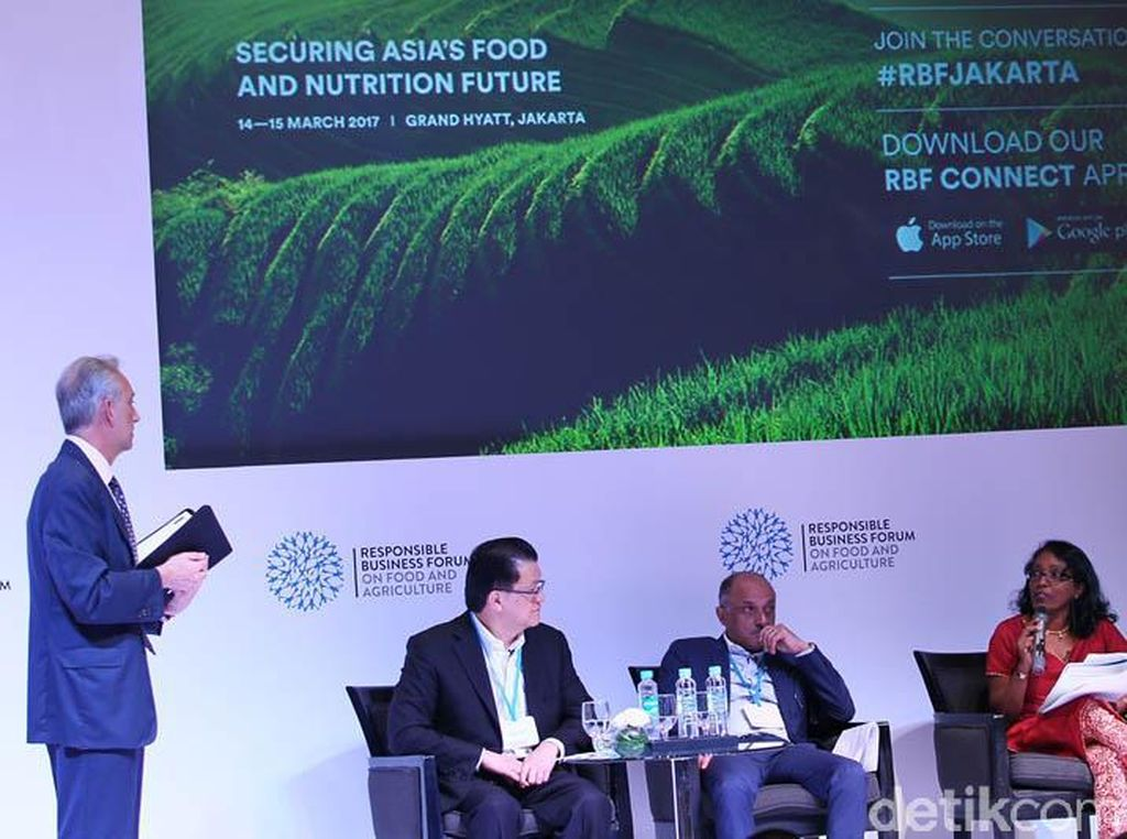 RBF diselenggarakan oleh Global Initiatives bersama dengan KADIN, PISAgro, dan Dewan Bisnis untuk Pembangunan Berkelanjutan Indonesia dan diadakan pada 14-15 Maret 2017 di The Grand Hyatt. Edisi keempat RBF ini mengumpulkan lebih dari 450 pihak pembuat kebijakan dari bisnis, pemerintah, pengusaha teknologi, NGO, dan petani dalam rangka membangun pendekatan-pendekatan baru untuk memajukan keamanan pangan dan nutrisi di Asia.