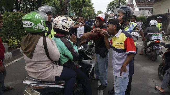 Deretan Intimidasi Pengemudi Transportasi Online di Bandung