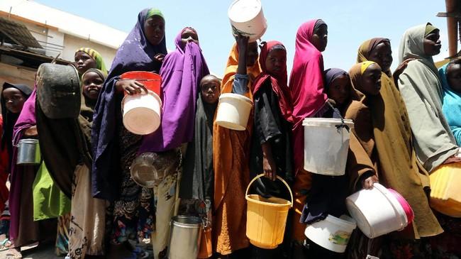 Kekeringan yang melanda Somalia ini bahkan bisa jadi berubah menjadi bencana kelaparan. (REUTERS/Feisal Omar)