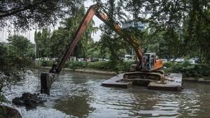 Anggaran SDA DKI Rp850 M Guna Pembebasan Lahan Sekitar Sungai