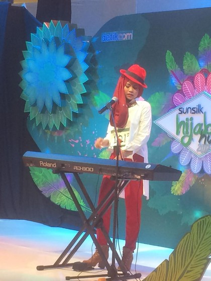 Hijabers Jogja Ini Pukau Nycta Gina di Audisi Sunsilk Hijab Hunt