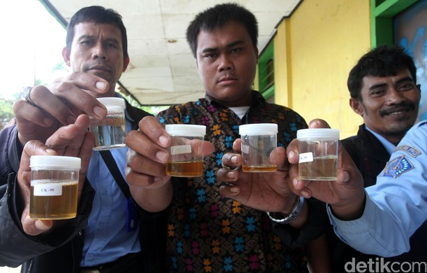 BNN Tes Urine Karyawan Perum PPD