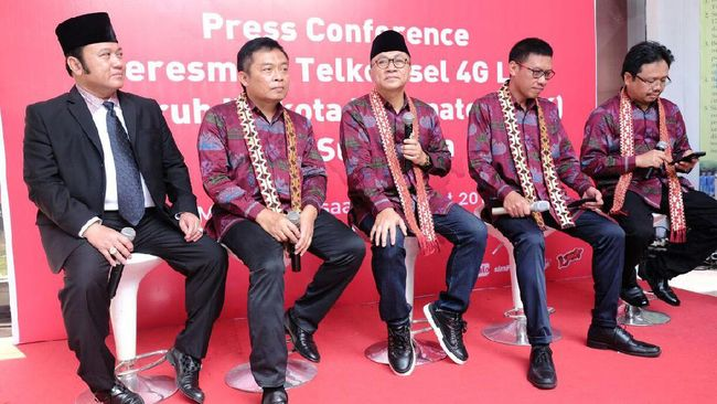 Jaringan 4G LTE Makin Meluas Hingga di Luar Pulau Jawa