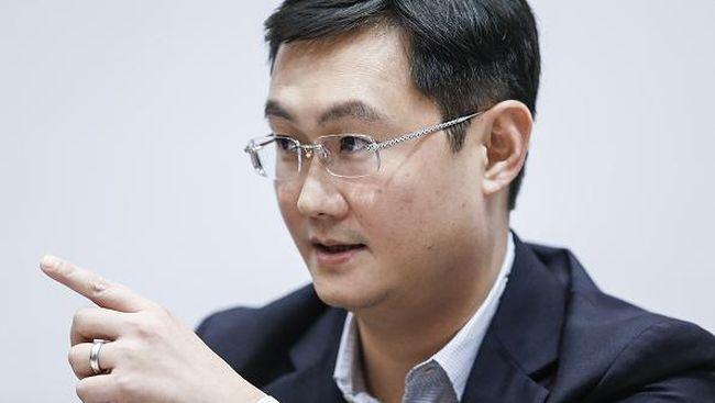 Bos Tencent Salip Sesaat Jack Ma jadi Orang Terkaya se-Asia